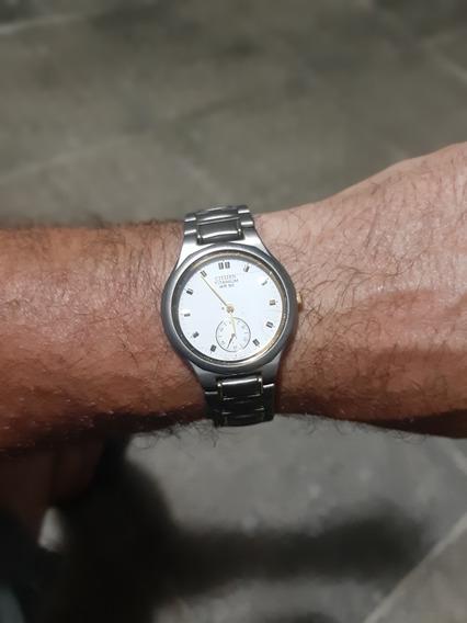 Relógio Citzen Titânio 33mm Médio Original E Levinho.