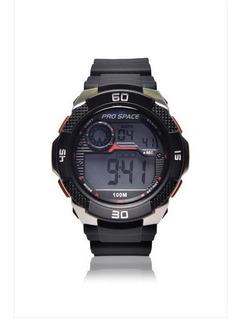 Reloj Pro Space Hombre Digital Psh0035-dir-1h Sumergible