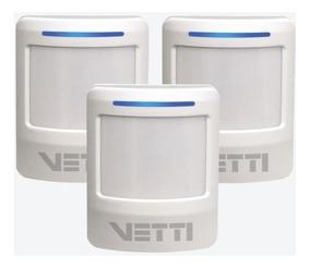 Combo 3 Smart Sensor De Presença Vetti 730-0766