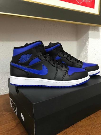 Tênis Air Jordan 1 Mid Royal Size 41