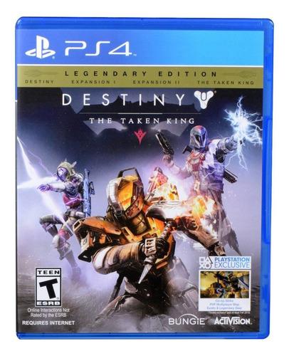 Destiny: The Taken King Legendary Edition Activision PS4 Físico