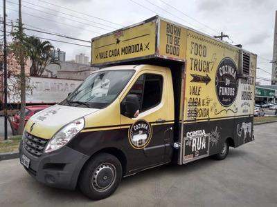 Food Truck Renault Master 2.3 2016 Baixo Km Tudo Funciona