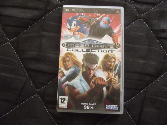 Mega Drive Collection Original Para Psp