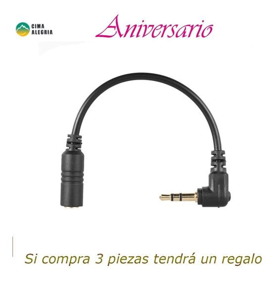 Cable Adaptador Micrófono Andoer Smartphone Teléfono Móvil M