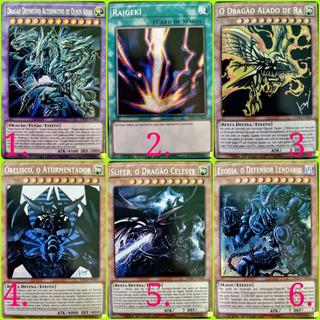 Super Pack 1000 Cartas Yugioh! Até 3 Cópias Cada! Português