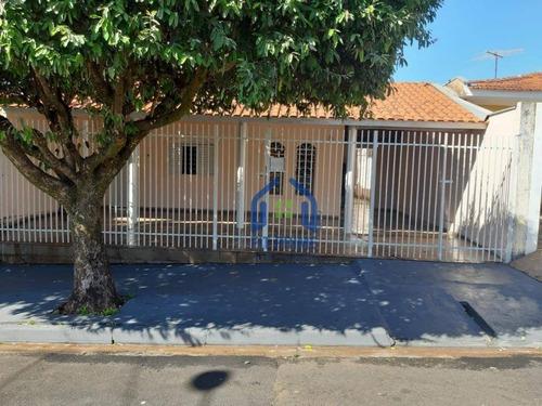 Casa Com 3 Dormitórios À Venda, 130 M² Por R$ 250.000,00 - Conjunto Habitacional São Deocleciano - São José Do Rio Preto/sp - Ca2535