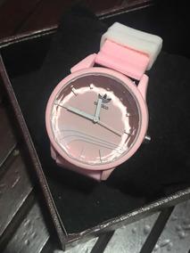 Relógio adidas Rosa Esportivo Borracha
