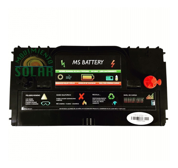 Bateria Solar 120ah 12v Para Panel Solar Tipo Lth Cale