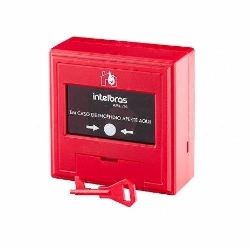 Acionador Manual Convencional Amc 420 Intelbras Alarme Incen