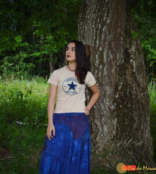 T-shirt Blusa B.loock Camiseta Feminina Cia Da Marca