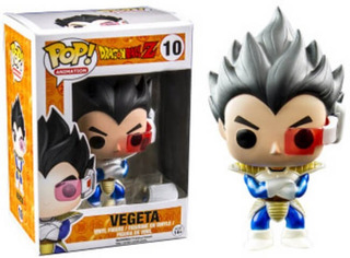 Funko Pop! Vegeta Metallic Exclusive Dragon Ball