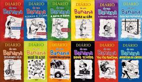 Coleção Diário De Um Banana - 12 Volumes