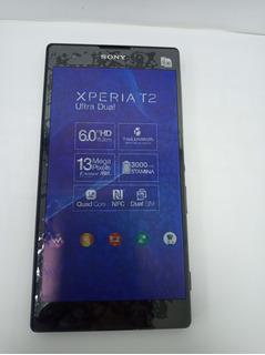 Celular Smartphone Sony Xperia T2 Ultra Dual Vitirine Preto