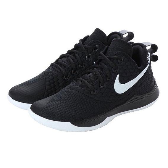 Tenis Nike Lebron Witness Iii Negro C/suela Blanca