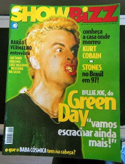 Revista Showbizz 132 - Jul 1996 Green Day Engenheiros 2 Pac