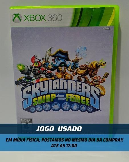 Jogo Skylanders Swap Force Xbox 360 Usado