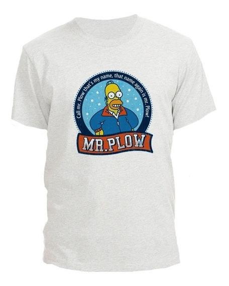 Remera Los Simpsons Mr Plow