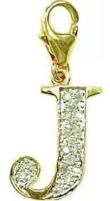 Pingente Para Pulseira Ou Gargantilha Ouro 18k E Diamantes