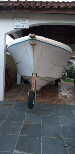 Imagem 1 de 3 de Lancha Casco Cabrasmar 28 Pés