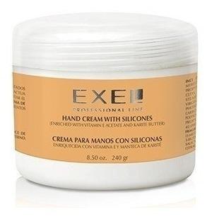 Crema Exel Para Manos Con Siliconas Vitamina E Manteca De Ka