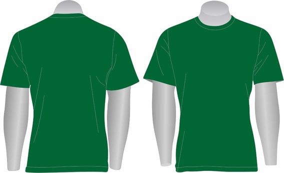 Kit 10 Camisetas Básica Gola Redonda 100% Algodão