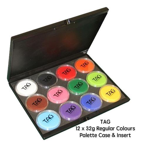 12 Color  Face Paint Professional Face Paint Palette Pintura