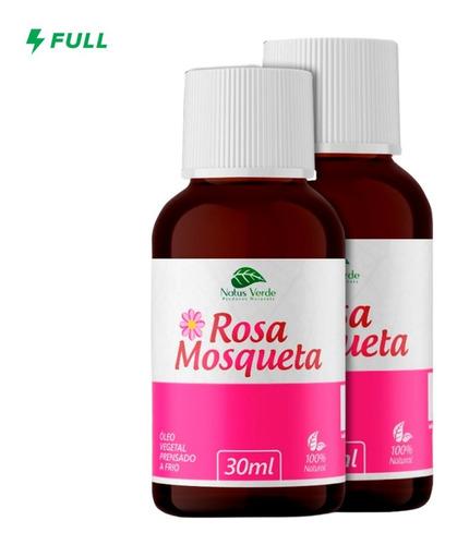 Óleo Vegetal De Rosa Mosqueta Clareador Manchas 30ml