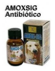 Amox-sig (amoxicilina) Antibiótico Para Perros. 50ml