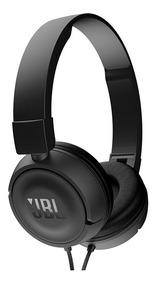 Headphone Jbl Com Fio T450 Preto Com Garantia E Nota Fiscal