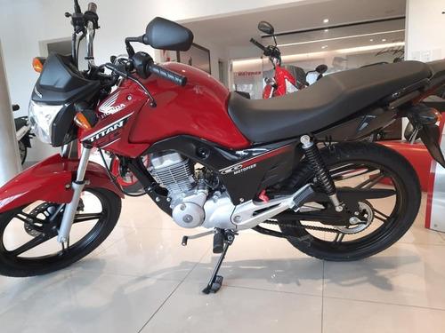 Honda New Titan 150 0km Fcia C/tarjeta Cg Xr Glh  Motopier
