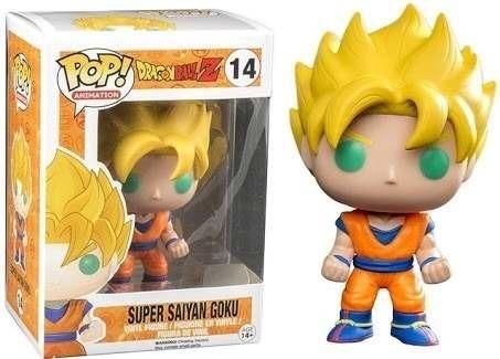 Boneco Funko Pop - Dragon Ball -saiyan Goku - Pronta Entrega