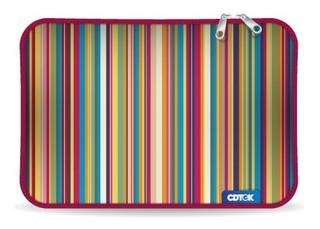 Funda Tablet 10 Pulgadas Neoprene Reforzada Cierre Diseño