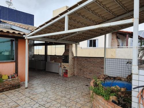 Cobertura Com 3 Quartos Para Comprar No Santa Rosa Em Belo Horizonte/mg - Pc21826