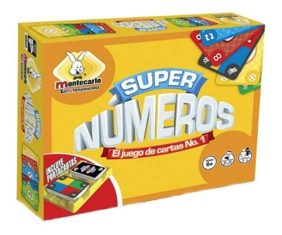 Juego De Mesa Super Numeros