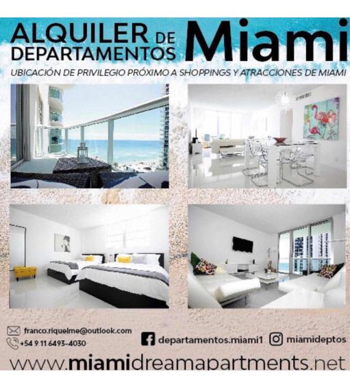 Departamentos Para Alquiler Vacacional En Hollywood, Miami