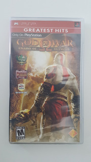 God Of War: Chains Of Olympus (psp) - Nuevo Sellado