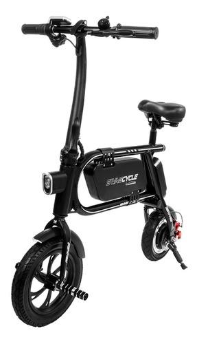 Bicicleta Electrica 300w Ahorra En Gasolina Blackpcs M10-bl