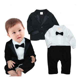 Kit Body Terno Terninho Frio Bebê 2 Peças Meninos Gravatinha