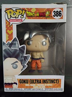 Funko Pop Goku Ultra Instinto, Traido De Miami