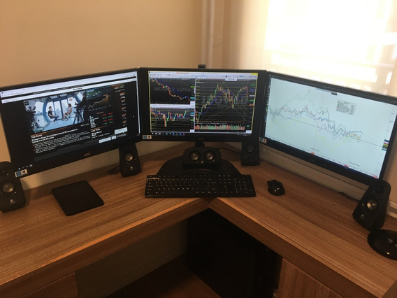 Pc Trader I7 - Day Trade, Swing Trade, Terminal Financeiro