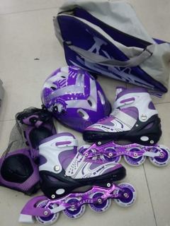 Patines Semiprofesionales + Kit Completo