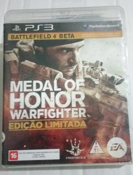 Jogo Medal Of Honor Warfighter - Ps3 - Mídia Física