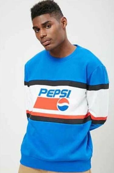 Sudadera Color-block Pepsi