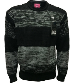 Sweater Bross Punto Ingles Rayado Jasp