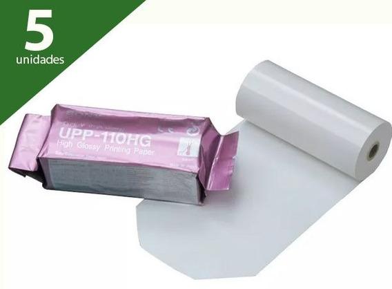 Papel Upp 110hg (kit Com 5 Unidades) - Sony