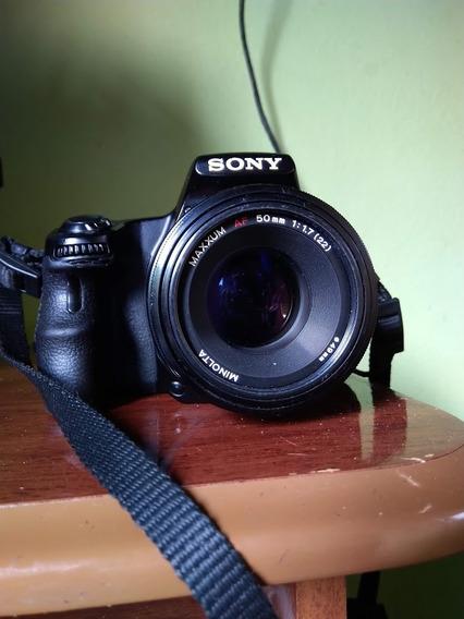 Camera Sony Slt A37 + 2 Lentes