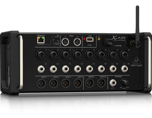 Imagen 1 de 7 de Mezclador Digital Behringer Xr16 Consola Digital Xr16 Interf