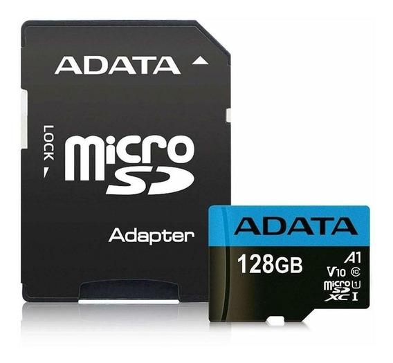Cartão Memória Micro Sd 128gb Adata P/ Motorola Lenovo Asus