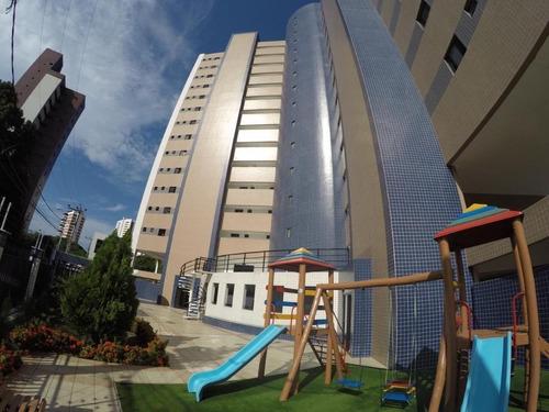 Apartamento Com 3 Dormitórios À Venda, 72 M² Por R$ 380.000,00 - Engenheiro Luciano Cavalcante - Fortaleza/ce - Ap2004