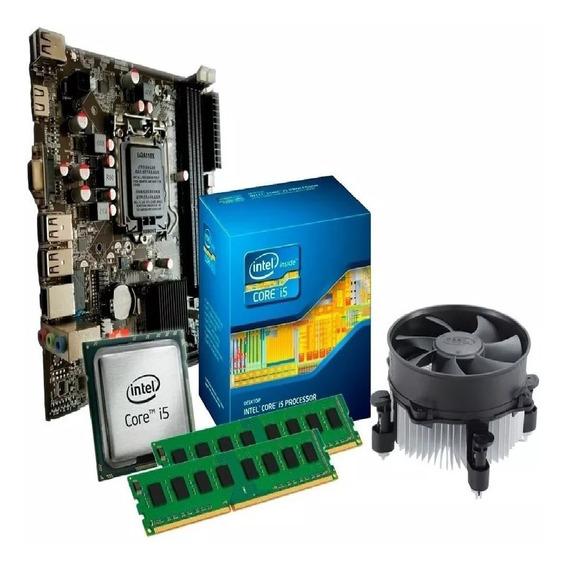 Kit I5 Placa Mãe H55 + Processador I5 650 + 8 Gb Mem Ddr3